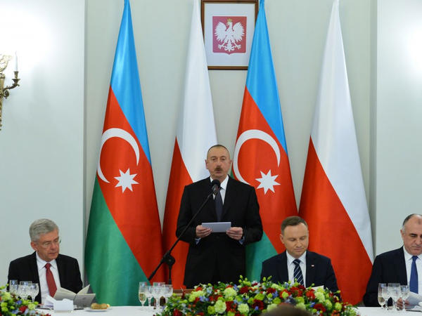 """Prezident İlham Əliyev: """"Azərbaycan regionda təhlükəsizliyə, sabitliyə, inkişafa və əməkdaşlığa töhfə verir"""""""