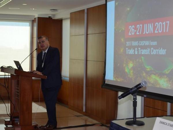 Vaşinqtonda Trans-Xəzər Şərq-Qərb Ticarət və Tranzit Forumu keçirilir - FOTO