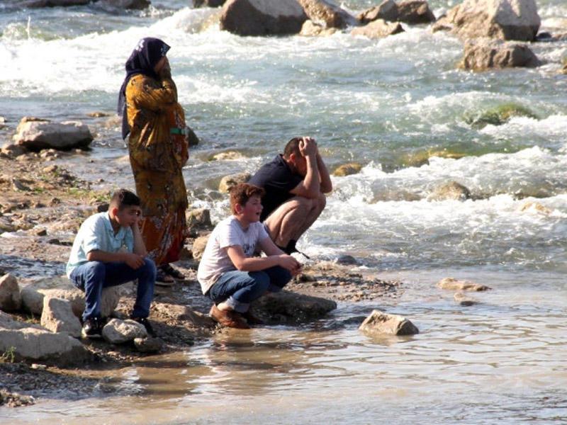 1 sutkada eyni yerdə 3 nəfər boğuldu - VİDEO - FOTO