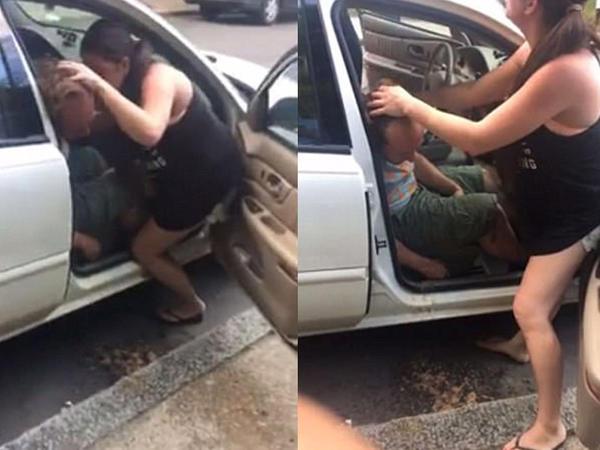 Facebook-da faciə kadrları: sevgilisini xilas etməyə çalışdı, alınmadı - VİDEO - FOTO