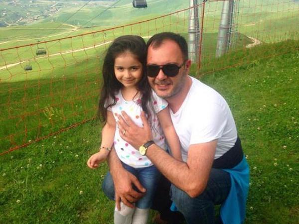 Anar Heybətovun qızı ilə Qusar gəzintisi - FOTO