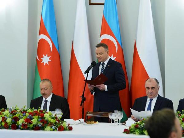"""Andjey Duda: """"Polşa və Azərbaycan öz regionlarında iqtisadi liderlərdir"""""""