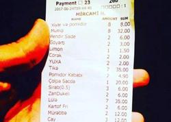 Bakıdakı bu restoranda musiqiyə görə əlavə 32 manat alındı - FOTO