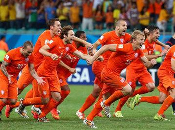DÇ-2014: Argentina və Hollandiya yarımfinalda!