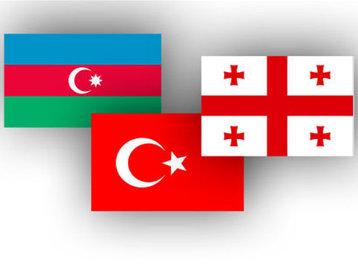 Azərbaycan, Gürcüstan və Türkiyə müdafiə nazirlərinin Naxçıvan şəhərinə səfəri davam edir