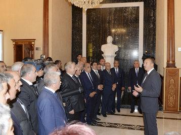 """Prezident İlham Əliyev: """"Azərbaycan gəncləri öz vətəninə bağlıdırlar, onlar ölkəmizin inkişafına böyük töhfə verirlər"""""""