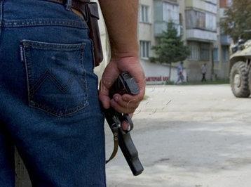 Paytaxtın mərkəzində silahlı insident
