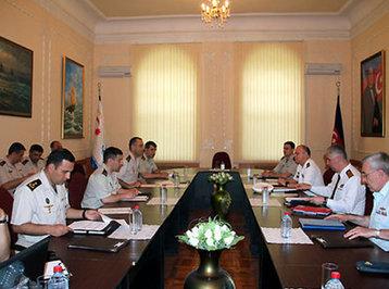 Azərbaycan HHQ ilə NATO-nun ekspertlər qrupu arasında işçi görüşü keçirilir