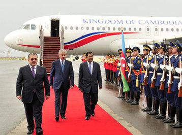 Kambocanın baş naziri Azərbaycana rəsmi səfərə gəlib