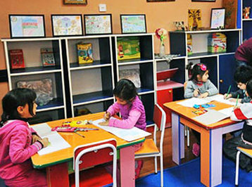 Heydər Əliyev Fondunun proqramı çərçivəsində Qax şəhərində 100 yerlik yeni uşaq bağçası tikilir