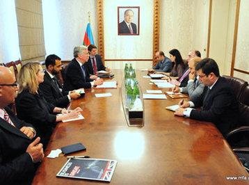 Azərbaycan və Böyük Britaniya arasında qeyri-enerji sektoru üzrə əməkdaşlığın inkişafı yolları müzakirə olunub