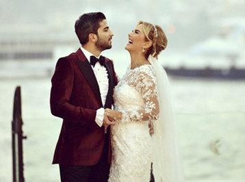 Məşhur türk teleaparıcının toyu oldu