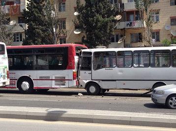 Bakıda avtobus qəzasında yaralananların adları açıqlandı