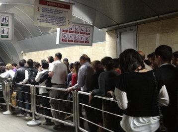 Bakı metrosunda qadın rüsvayçılığı