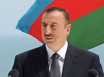 Prezident İlham Əliyev Ağdaş rayonunda səfərdədir