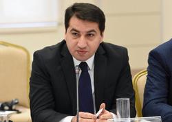 Hikmət Hacıyev Azərbaycan əleyhinə əsassız kampaniya aparan media təşkilatlarını tənqid etdi