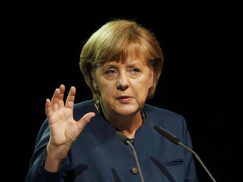 Merkel Suriya məsələsini Rusiya və Türkiyə prezidentləri ilə müzakirə etdi