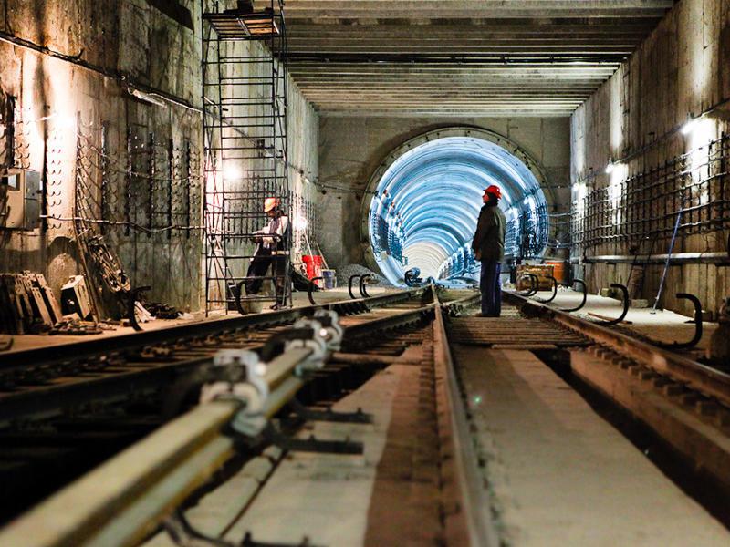 """Papanin""də metro stansiyasının inşası ile ilgili görsel sonucu"