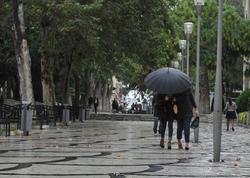 Bakıda yağış yağacaq, güclü külək əsəcək
