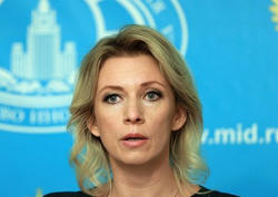 Zaxarova: Rusiya Azərbaycanla Ermənistan arasında danışıqların bərpa olunacağına ümid edir