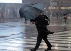 """Hava ilə bağlı XƏBƏRDARLIQ edildi: <span class=""""color_red"""">yağış, sulu qar, güclü külək</span>"""