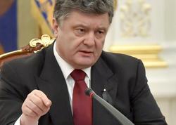 Rusiya Poroşenkoya sanksiyalar tətbiq etdi
