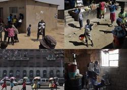 Diktatorun diz çökdürdüyü ölkədən FOTOlar