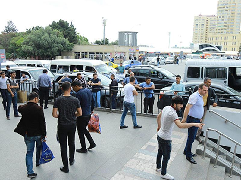 """1 manatlıq taksilərin """"bazarı bağlanır"""": Yol polisi fəaliyyətə keçir"""