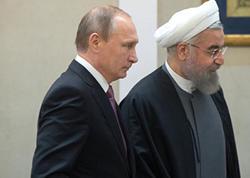 Putin və Ruhani Suriyanı müzakirə ediblər