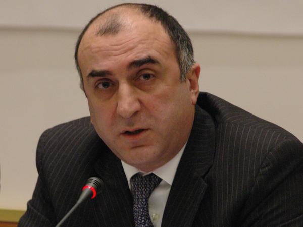 Elmar Məmmədyarov: Azərbaycan İsrail-Fələstin münaqişəsinin siyasi həllini dəstəkləyir