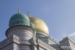 Moskvada 1 milyon insan namaz qıldı - FOTOREPORTAJ
