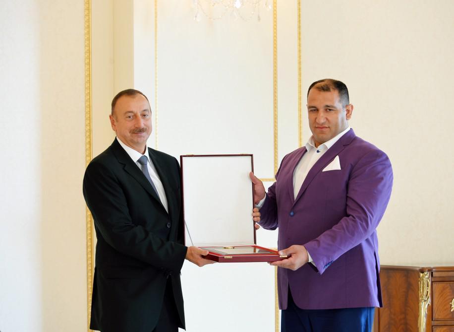 Prezident İlham Əliyev XV Yay Paralimpiya Oyunlarında