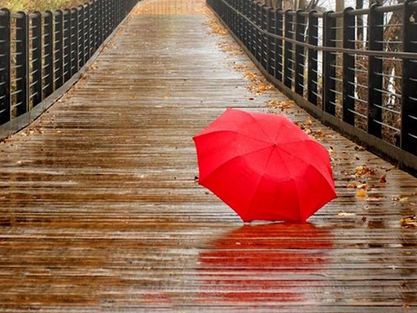 Şimşək çaxıb, arabir yağış yağıb - Faktiki hava