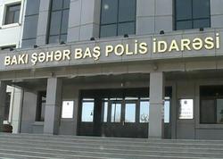 """Bakı polisi """"Milli Şura""""nın mitinqi ilə bağlı məlumat yaydı"""