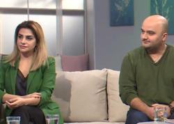DJ Tural ilk dəfə həyat yoldaşı ilə efirə çıxdı - VİDEO - FOTO