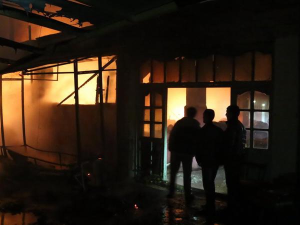 Masallıda 45 yaşlı kişi öz evini yandırdı