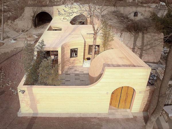 Çində mağara evi - FOTO