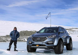 Hyundai-da Antarktidanı keçdi - FOTO