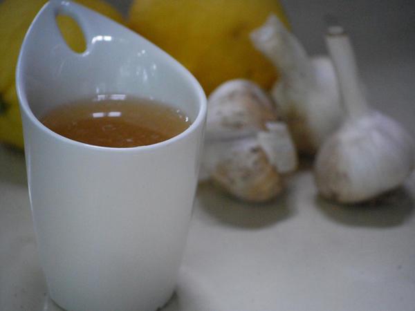 Sarımsaq çayının faydaları və hazırlanması