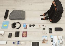 Telefonu naqilsiz enerji ilə təmin edən bel çantası