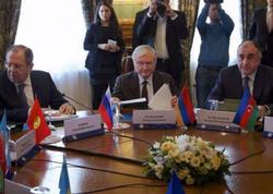 Lavrov-Məmmədyarov-Nalbandyan Moskvada görüşdülər - YENİLƏNİB
