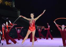 Bakıda bədii gimnastika üzrə Dünya Kubokunun açılış mərasimi keçirilib - FOTO