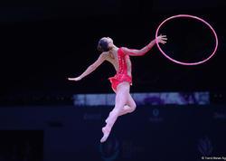 Bədii gimnastika üzrə Dünya Kubokunda iki növ üzrə finalçılar məlum oldu