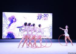 Azərbaycan komandası bədii gimnastika üzrə Dünya Kubokunda mükafat yerləri uğrunda mübarizə aparmağa hazırlaşır
