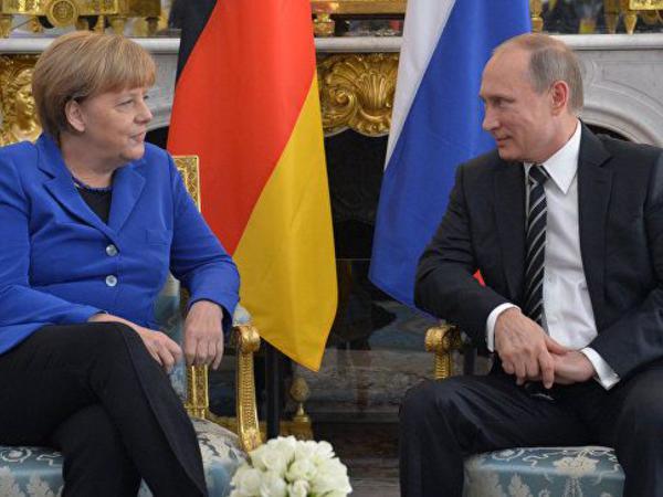 "Putin-Merkel görüşünün <span class=""color_red"">TARİXİ AÇIQLANDI</span>"