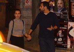 Gizlətdiyi sevgilisi ilə əl-ələ görüntüləndi - FOTO