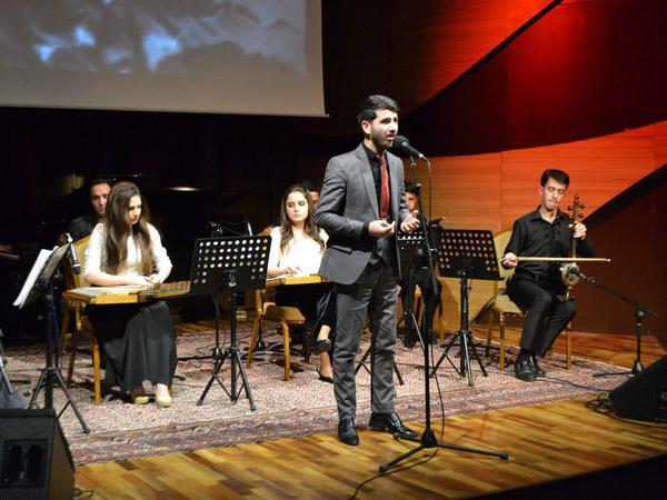 Beynəlxalq Muğam Mərkəzində M.Müşfiq yaradıcılığına həsr olunmuş tədbir keçirilib - FOTO