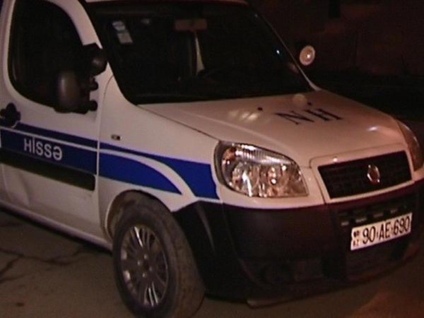 Bakıda polis maşını qəzaya uğrayıb, 1 nəfər yaralanıb