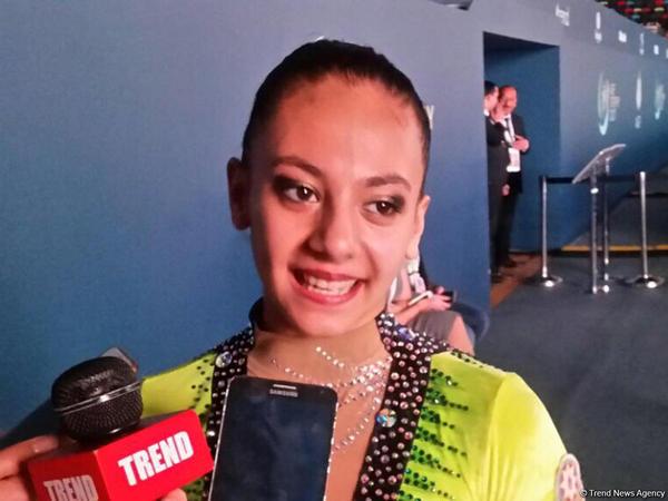 """Azərbaycanlı gimnast: """"Yarışların ikinci günündə həyəcanın öhdəsindən gəlmək mümkün oldu"""""""