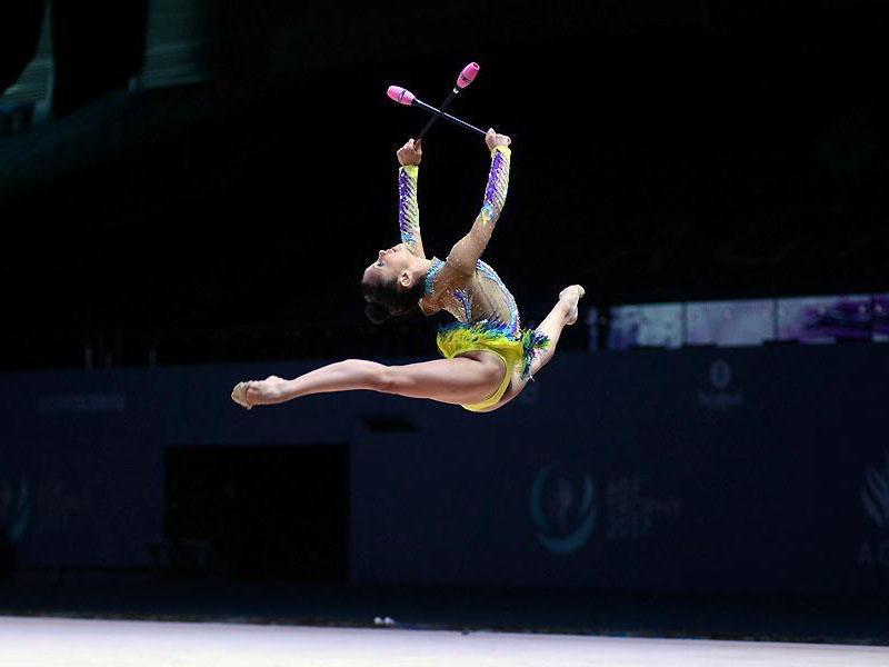 İsrail gimnastı Bakıda Dünya Kubokunda birinci oldu